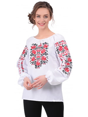 Вышиванка белая - SOPHIE MARIA - 5077596