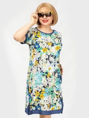 Сукня в квітковий принт | 5081153