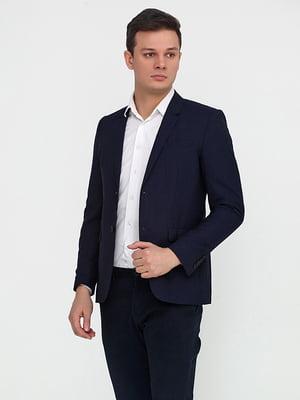 Піджак темно-синій | 4632000
