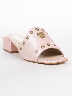 Шльопанці рожеві | 5062236
