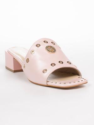 Шльопанці рожеві | 5062239