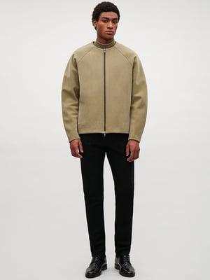 Куртка кольору хакі | 4632042