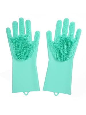 Перчатки силиконовые для уборки и мытья посуды Magic Silicone Gloves | 5025991