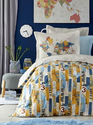Комплект постельного белья полуторный | 5081257