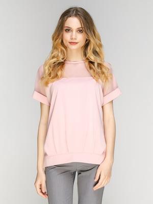 Блуза розовая | 5077743