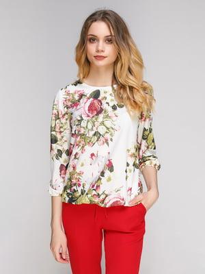 Блуза в цветочный принт | 5077717