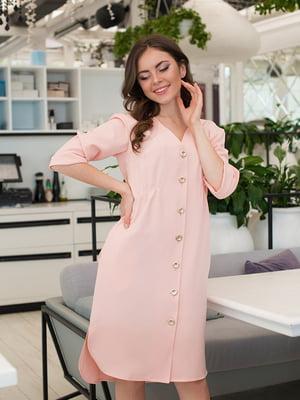Платье цвета пудры | 5081859