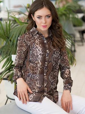 Рубашка анималистичной расцветки | 5081870