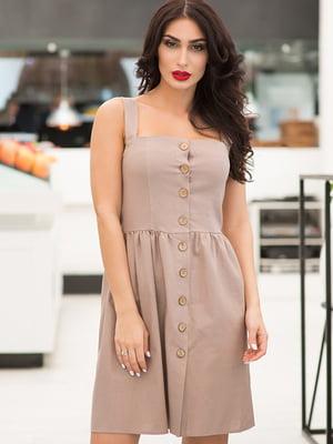 Платье бежевое | 5081883