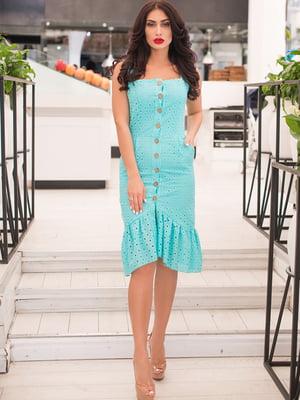 Сукня м'ятного кольору | 5081890