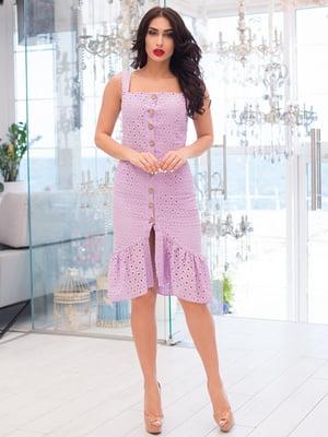 Платье сиреневое | 5081892