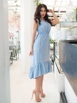 Платье голубое | 5081896