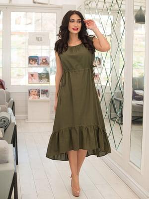 Платье цвета хаки | 5081897