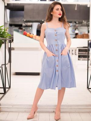 Сукня блакитна | 5081923