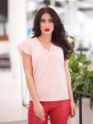 Блуза цвета пудры | 5081932