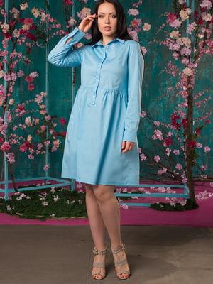 Платье голубое | 5081945
