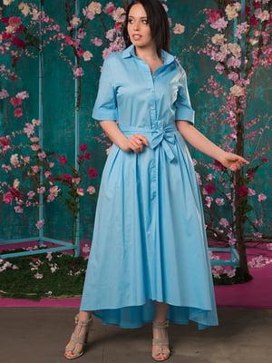 Сукня блакитна | 5081953