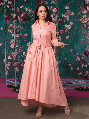 Сукня кольору пудри | 5081954