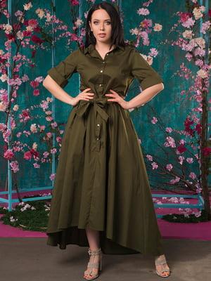 Платье цвета хаки | 5081955