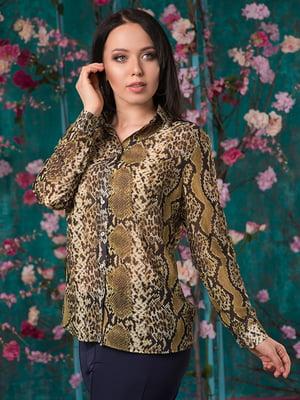 Рубашка анималистичной расцветки | 5081956