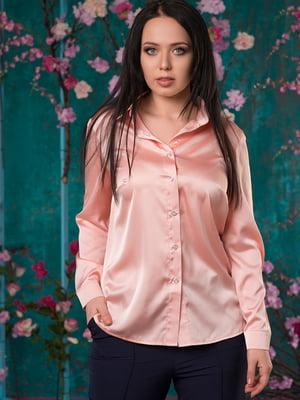 Рубашка цвета пудры   5081960
