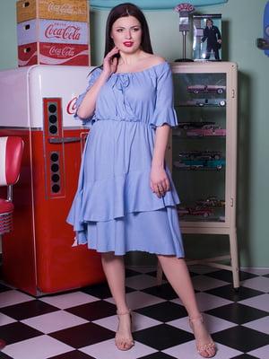 Платье голубое | 5081986