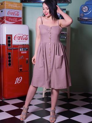 Платье бежевое | 5081988