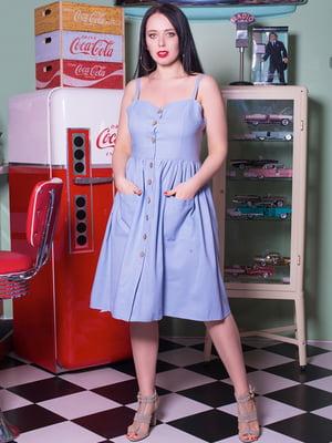 Платье голубое | 5081990