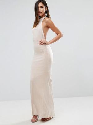 Платье бежевое | 5082610