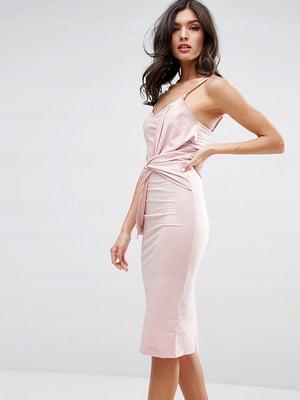 Платье розовое | 5082642