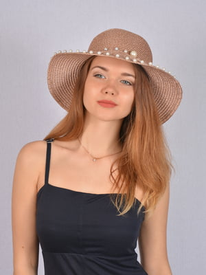 Шляпа коричневая   5085811