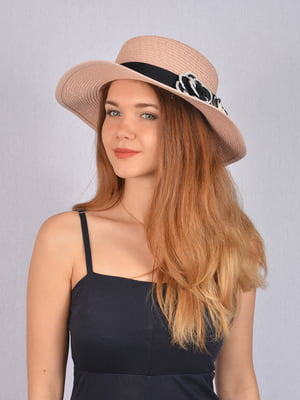 Шляпа цвета пудры   5085815