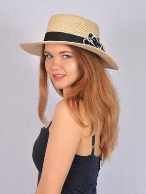 Шляпа бежевая   5085817