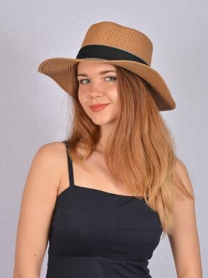 Шляпа бежевая   5085829