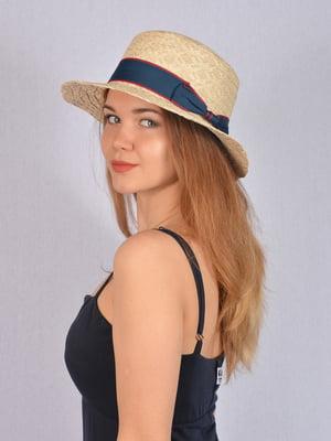 Шляпа бежевая | 5085838