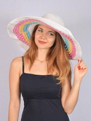Шляпа белая   5085841