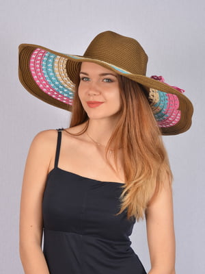 Шляпа коричневая   5085842