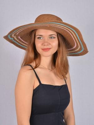 Шляпа коричневая   5085846