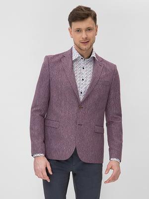 Пиджак бордовый | 5086357
