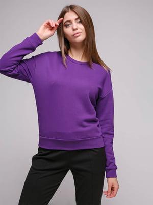 Світшот фіолетовий | 5087241