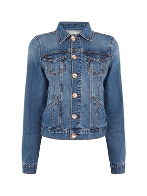 Куртка джинсовая синяя | 5073997