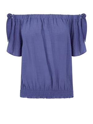 Блуза синяя | 5074048