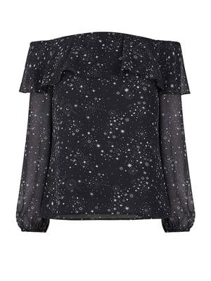Блуза черная | 5074125