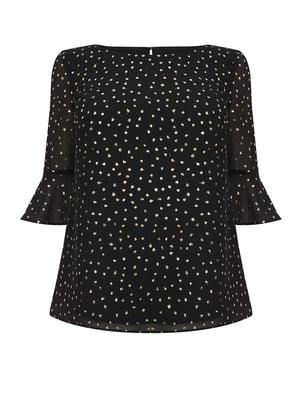 Блуза черная | 5074228