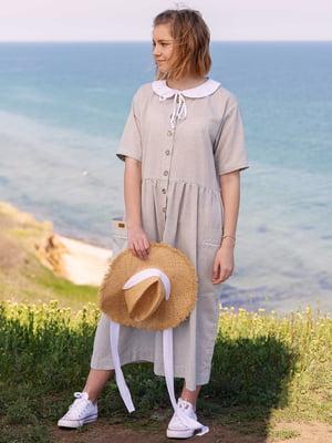 Сукня світло-сіра | 5086769