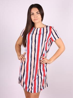 Платье в полоску   5087305