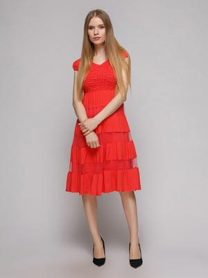 Платье коралловое | 5026076