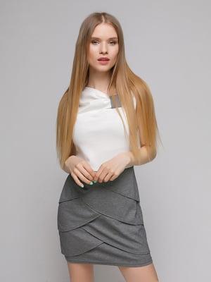 Платье двухцветное | 5026182