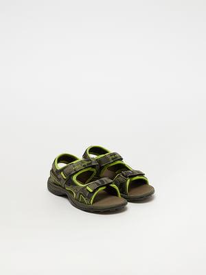Сандалії зелені   5075039