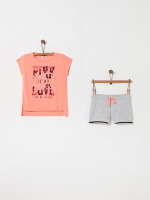 Комплект: футболка и шорты | 5075142